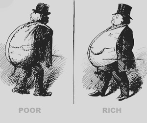 poor, rich, and true image