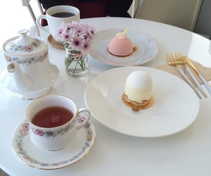 tea, food, and pastry image