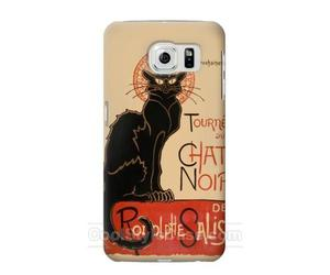 cat, Chat Noir, and samsung galaxy s6 edge image