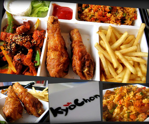 fried chicken and kyochon chicken image