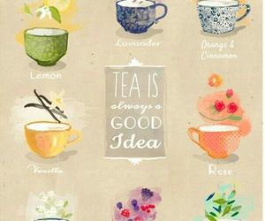 tea, idea, and drink image