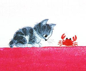 arte, Gatos, and kitten image
