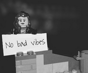 black and white, tumblr, and lego image