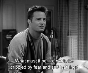 chandler bing, funny, and f.r.i.e.n.d.s image