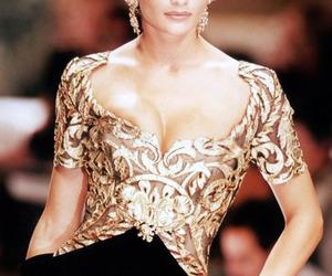 fashion, helena christensen, and model image