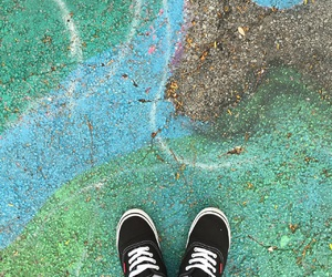 color, floor, and levi's image