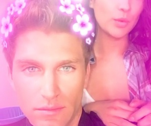 shay mitchell and keegan allen image