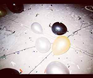 balloons, party, and instagram image