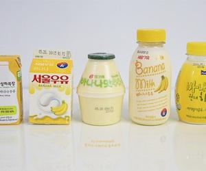 banana, juice, and korea image