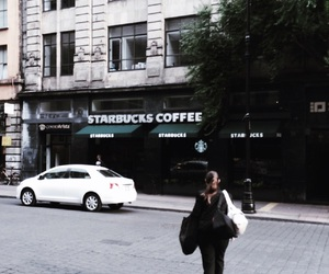 brown, city, and coffee image