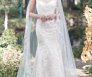beautiful, bridal, and lace image