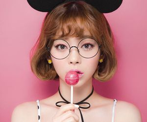 asian, candy, and cute girl image