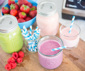 colorful, smoothies, and drink image