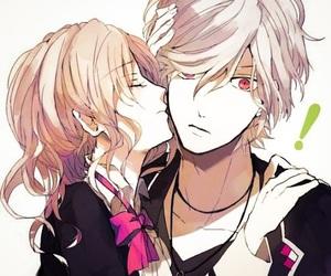 diabolik lovers, anime, and kiss image