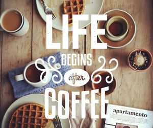 coffee, quote, and happiness image
