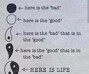 life, bad, and good image