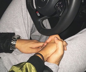boy, hands, and car image