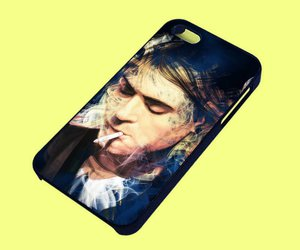 cases, phone case, and cobain image