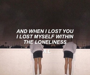 sad, quote, and grunge image
