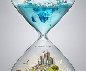 architecture, nature, and time image