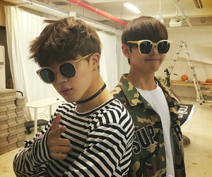 jimin, bts, and v image