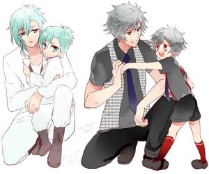 uta no prince sama, ai mikaze, and kurosaki ranmaru image
