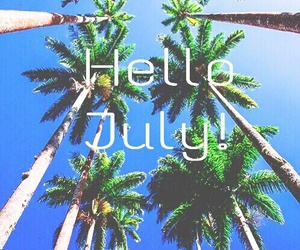 beach and july image