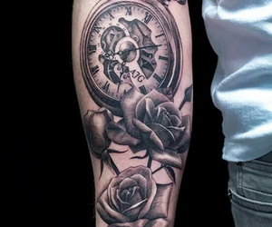 arm, roses, and big image