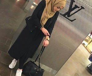 hijab, muslim, and hijabfashion image