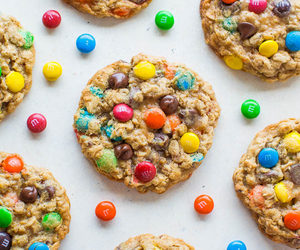 m&m's, Cookies, and food image