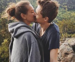 boy, couple, and feel image
