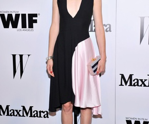 actress, dress, and fashion image