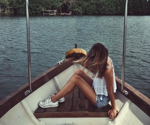 cool, girl, and photography image