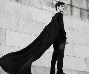 black, boy, and cape image