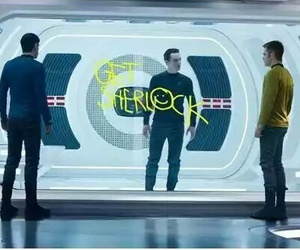 star trek, spock, and star trek into darkness image