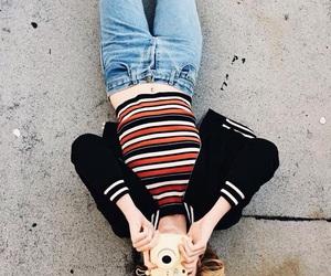 girl, tumblr, and camera image