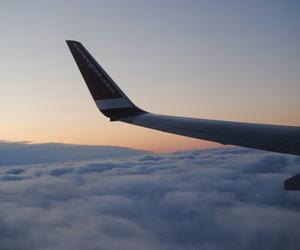 airplane, cloud, and sky image