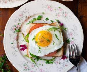 food, delicious, and egg image