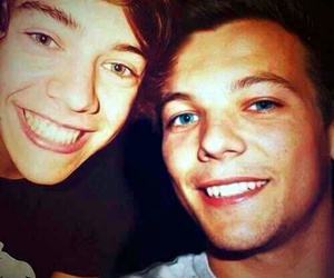 manip, louis tomlinson, and Harry Styles image