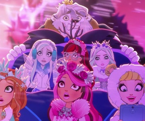trailer, eah, and ever after high image