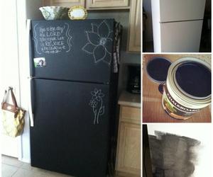 black, idea, and kitchen image