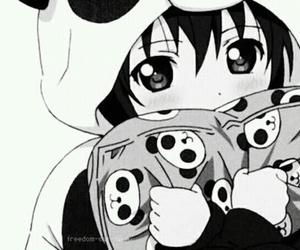 kawaii, panda, and loli image
