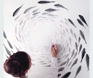 fish and paint image
