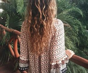 boho, hair, and style image