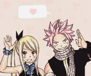 fairy tail, nalu, and lucy heartfilia image