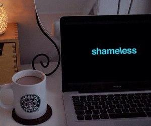 coffee, comfort, and macbook image