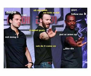 chris evans, funny, and lol image