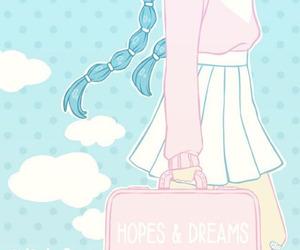 dreams, kawaii, and pastel image