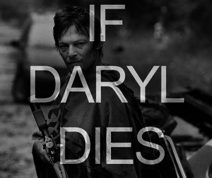 the walking dead, daryl, and riot image