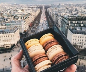 city, food, and paris image